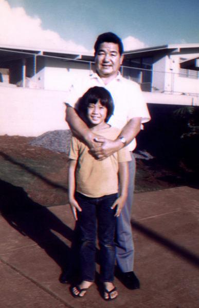 Kevin and Fukushima sensei 1974